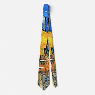 Van Gogh - Cafe Terrace Tie