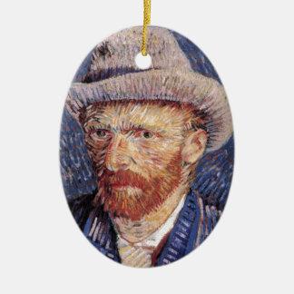 Van Gogh Ceramic Oval Ornament