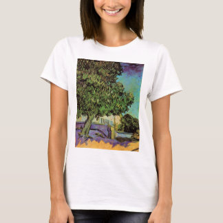 Van Gogh Chestnut Tree in Blossom Vintage Fine Art T-Shirt