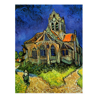 Van Gogh Church at Auvers F789 Fine Art Postcards