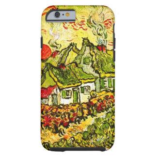 Van Gogh - Cottages Cypresses Fine Vintage Tough iPhone 6 Case