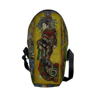 Van Gogh Courtesan after Eisen Messenger Bags