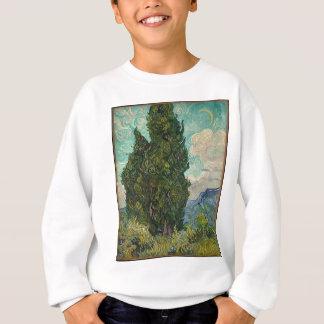 Van Gogh Cypresses Sweatshirt