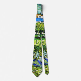 Van Gogh - Daubigny's Garden, 1890 Tie