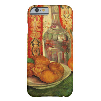 Van Gogh Decanter Lemons Plate, Vintage Still Life Barely There iPhone 6 Case