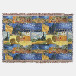 Van Gogh Dream Paintings Art Throw Blanket