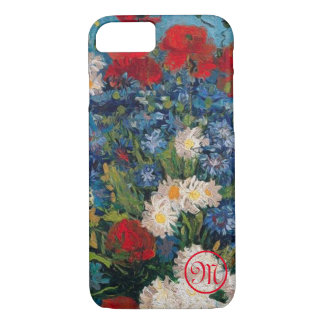 Van Gogh & Elizabeth Flowers Monogram - iPhone 8/7 Case