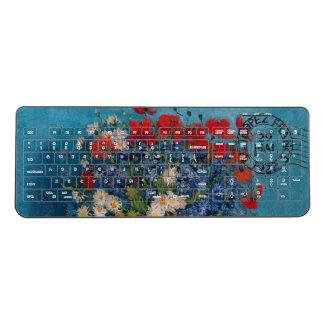 Van Gogh & Elizabeth Flowers - Wireless Keyboard