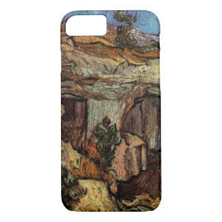 Van Gogh Entrance to a Quarry, Vintage Fine Art iPhone 7 Case