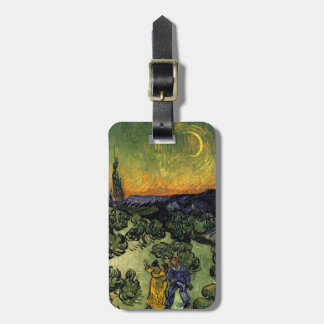 Van Gogh: Evening Promenade Luggage Tag