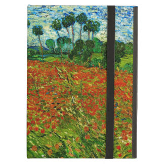 Van Gogh Field with Poppies (F636) Fine Art Cover For iPad Air