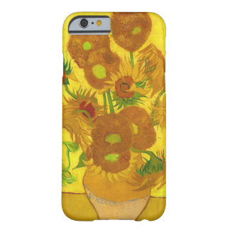 Van Gogh Fifteen Sunflowers In A Vase Fine Art Barely There iPhone 6 Case