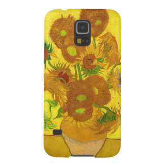 Van Gogh Fifteen Sunflowers In A Vase Fine Art Case For Galaxy S5
