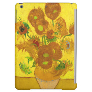 Van Gogh Fifteen Sunflowers In A Vase Fine Art Case For iPad Air