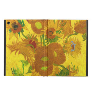 Van Gogh Fifteen Sunflowers In A Vase Fine Art Cover For iPad Air