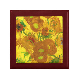 Van Gogh Fifteen Sunflowers In A Vase Fine Art Gift Box
