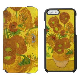 Van Gogh Fifteen Sunflowers In A Vase Fine Art Incipio Watson™ iPhone 6 Wallet Case