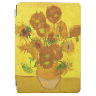 Van Gogh Fifteen Sunflowers In A Vase Fine Art iPad Air Cover