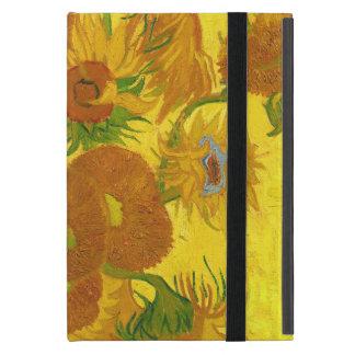 Van Gogh Fifteen Sunflowers In A Vase Fine Art iPad Mini Cover
