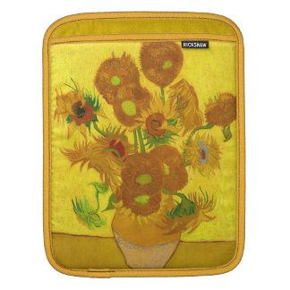 Van Gogh Fifteen Sunflowers In A Vase Fine Art iPad Sleeve