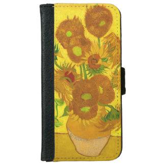 Van Gogh Fifteen Sunflowers In A Vase Fine Art iPhone 6 Wallet Case