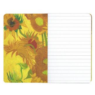 Van Gogh Fifteen Sunflowers In A Vase Fine Art Journal