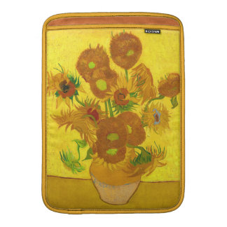 Van Gogh Fifteen Sunflowers In A Vase Fine Art MacBook Sleeve