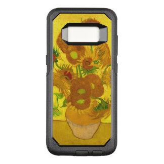 Van Gogh Fifteen Sunflowers In A Vase Fine Art OtterBox Commuter Samsung Galaxy S8 Case