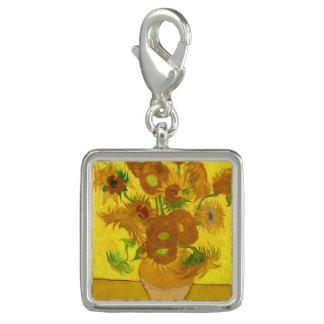 Van Gogh Fifteen Sunflowers In A Vase Fine Art Photo Charms