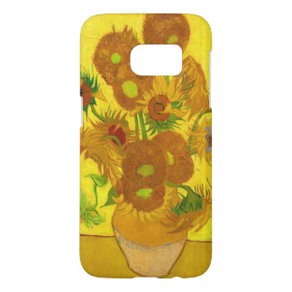 Van Gogh Fifteen Sunflowers In A Vase Fine Art Samsung Galaxy S7 Case