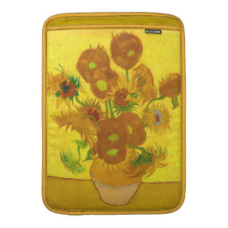 Van Gogh Fifteen Sunflowers In A Vase Fine Art Sleeve For MacBook Air