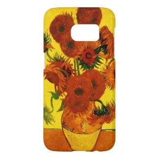 Van Gogh Fine Art, Vase with 15 Sunflowers Samsung Galaxy S7 Case