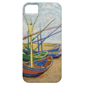 Van Gogh Fishing Boats On The Beach iPhone 5 Case