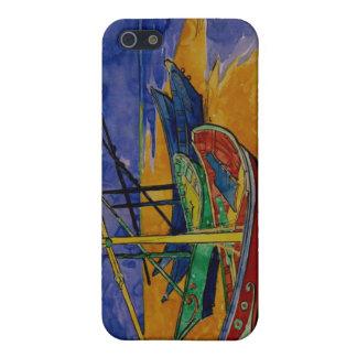 Van Gogh Fishing Boats Saintes-Maries iPhone Case iPhone 5/5S Cases