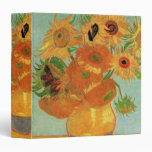 Van Gogh Flower Art, Vase with 12 Sunflowers