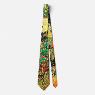 Van Gogh Flowering Garden Path, Vintage Farm Tie