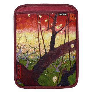 Van Gogh Flowering Plum Tree After Hiroshige iPad Sleeve