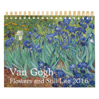 Van Gogh Flowers & Still Life 2016 Small Wall Calendar
