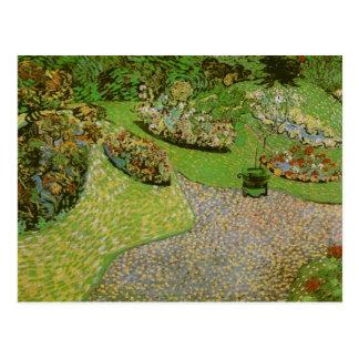 Van Gogh Garden in Auvers F814 Post Card