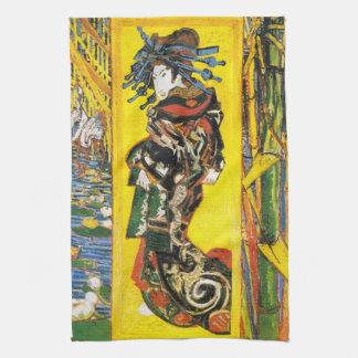 Van Gogh Geisha Kitchen Towel