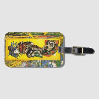 Van Gogh Geisha Luggage Tag
