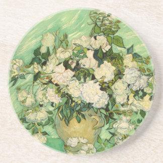 Van Gogh Gifts Still Life w/ Roses Impressionism Coasters