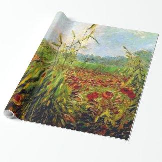 Van Gogh - Green Corn Stalks Wrapping Paper