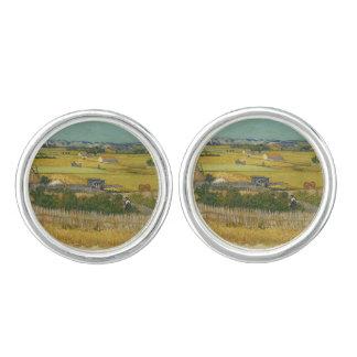 Van Gogh Harvest, ファン·ゴッホ ,収穫 Cufflinks