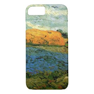 Van Gogh Haystacks Under a Rainy Sky, FineArt iPhone 7 Case