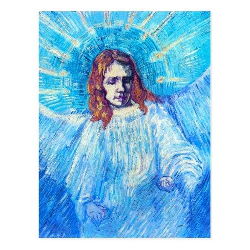 Van Gogh Head of an Angel Postcard