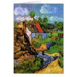 Van Gogh Houses in Auvers (F805) Fine Art