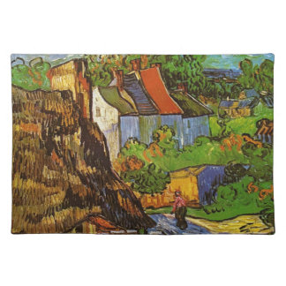 Van Gogh - Houses in Auvers Placemat