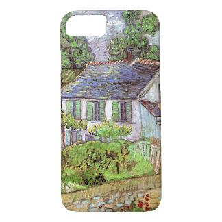 Van Gogh Houses in Auvers, Vintage Fine Art Case-Mate iPhone Case