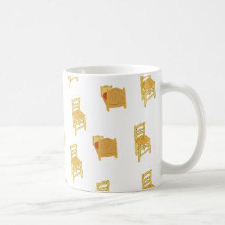 Van Gogh Illustration Classic White Coffee Mug